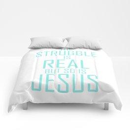 Jesus is Real Christian Comforters