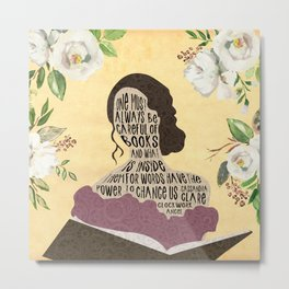 Tessa Gray - Clockwork Angel (new version) Metal Print