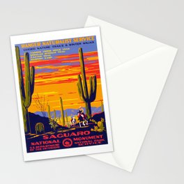 Saguaro National Monument Stationery Cards