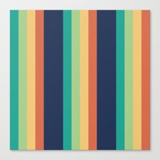 Happy Stripes Canvas Print