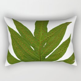 Tropical Fern Botanical Rectangular Pillow