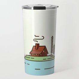 Cabin Porn Travel Mug