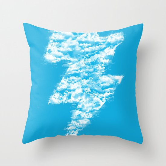 Lightning Peace Throw Pillow