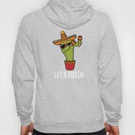 Lets Fiesta Dabbing Cactus Cinco De Mayo Party Hoody