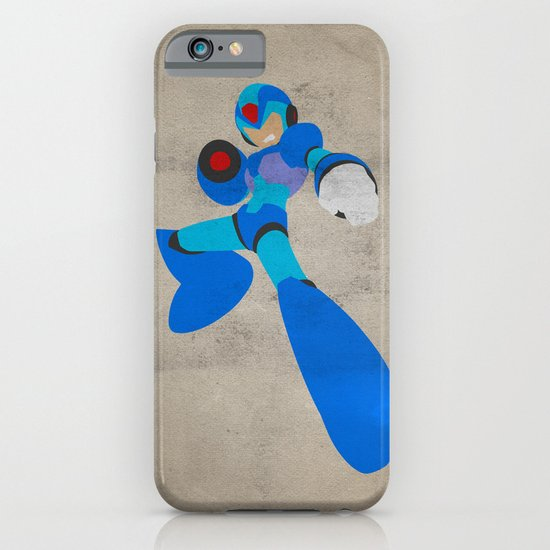 Buster B.A. (Megaman) iPhone & iPod Case