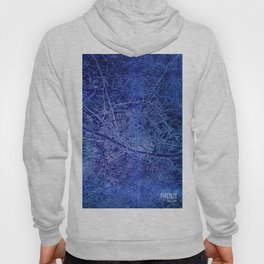 Map of Florence Italy, year 1890 Hoody
