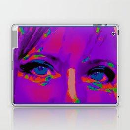 Debbie Purple Laptop & iPad Skin