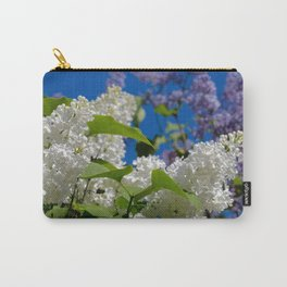White Lilacs Carry-All Pouch