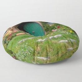 Green Magical Home, New Zealand Floor Pillow