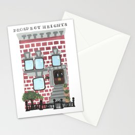 Prospect Heights Brownstone Stationery Cards