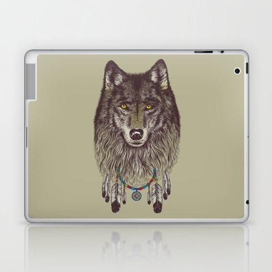 Wind Catcher Wolf Laptop & iPad Skin