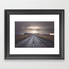 Route 1 Framed Art Print