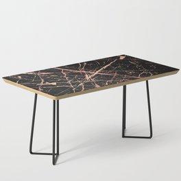 Copper Splatter 091 Coffee Table