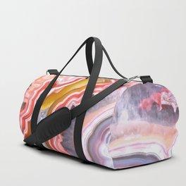 Agate Gem slice Duffle Bag