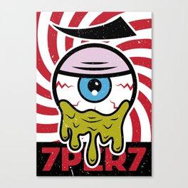 Eye of 7 Canvas Print