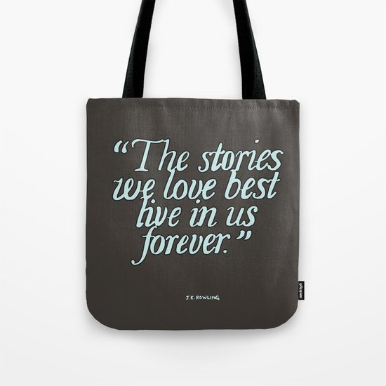 Harry Potter Quote #2 Tote Bag