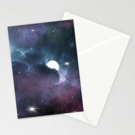 Nebula Night Stationery Cards