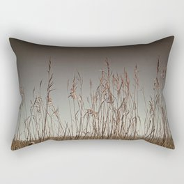 Swamp Grass Rectangular Pillow