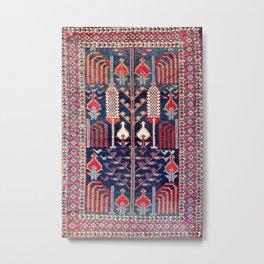 Khila Baku Southeast Caucasus Rug Print Metal Print