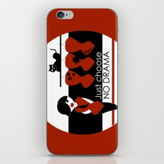 No Dramas! iPhone & iPod Skin