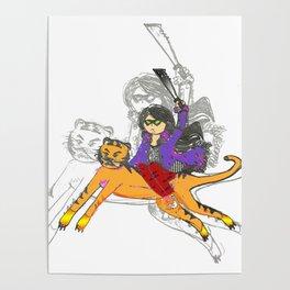 Machete Tiger Poster