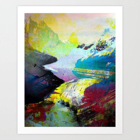 Untitled 20110727c (Landscape) Art Print