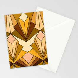 Art Deco meets the 70s - Large Scale Stationery Cards