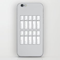 Ten Commands iPhone & iPod Skin