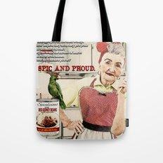 Spicalicious Tote Bag