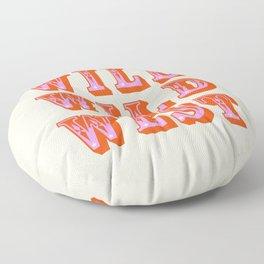 WILD WILD WEST Floor Pillow