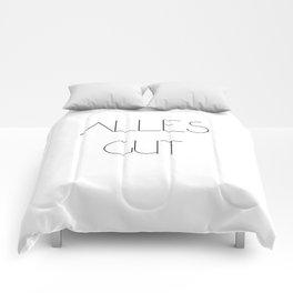 Alles gut Comforters