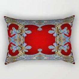 Boujee Boho Royal Metallic Rectangular Pillow