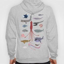 Deep sea sharks Hoody
