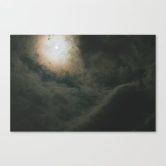look to the sky Canvas Print