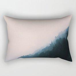 Island Landscape Rectangular Pillow