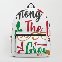 Grow Old Along With Me - Christmas Backpack