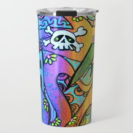 Ocean By The Sea Travel Mug