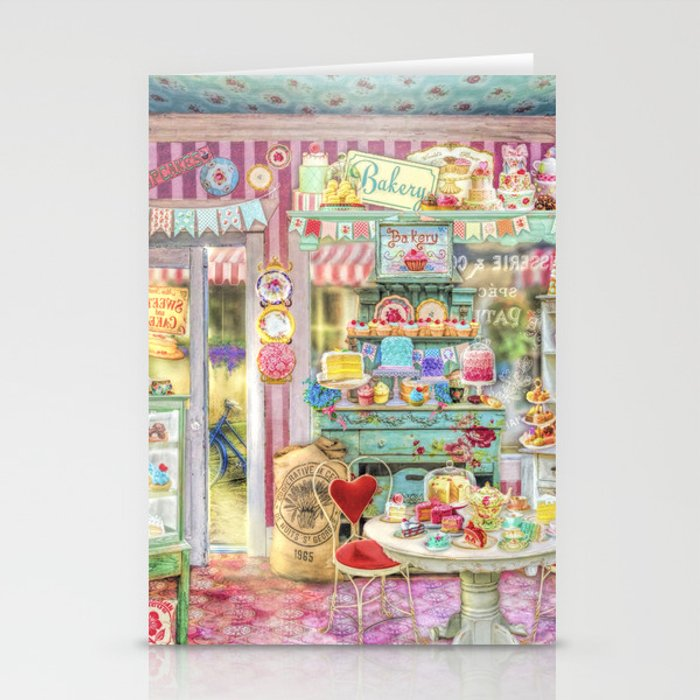 The Little Cake Shop Stationery Cards
