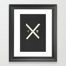 Mulder and Scully Framed Art Print
