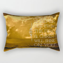 Wake Up Sleeper Rectangular Pillow