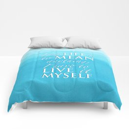 PJO - Live it myself Comforters