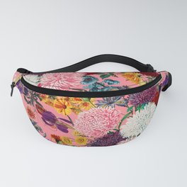 Floral Pink Pattern Fanny Pack