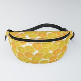 Citric orange fruits pattern Fanny Pack