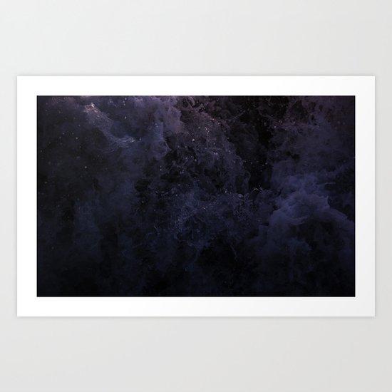 Acqua Nebulae 5 Art Print