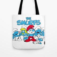 The Smurfs Tote Bag