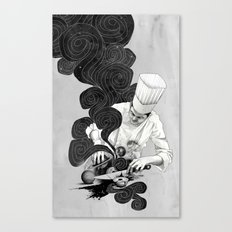 Galactic Chef Canvas Print