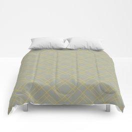 Simply Mod Diamond Mod Yellow on Retro Gray Comforters