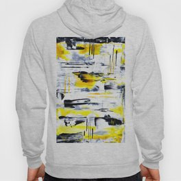 Bumble Bee Abstraction Hoody