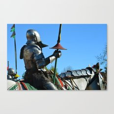 Jousting Horse - The Riders Canvas Print