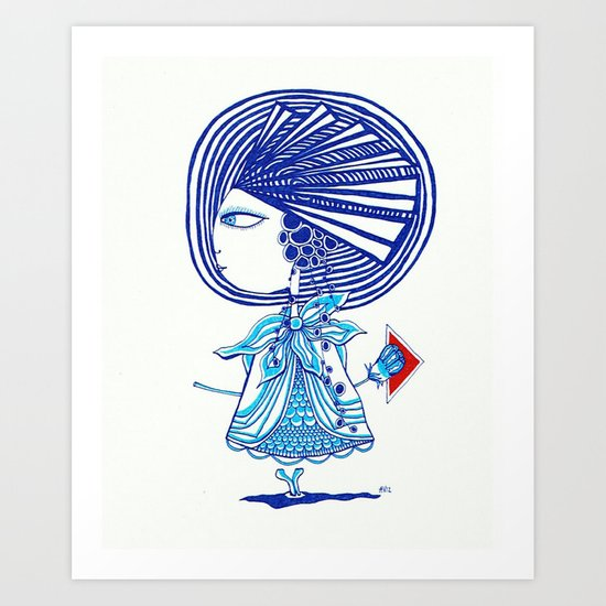 w(II) 012 Art Print